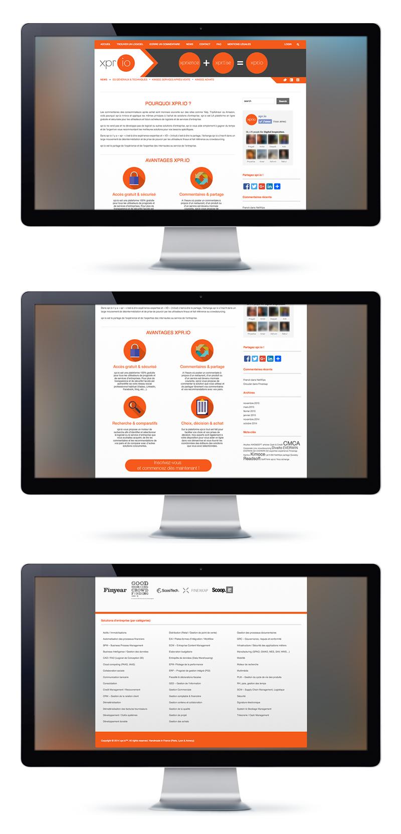 xpr.io website